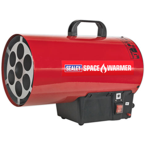 Sealey LP41 230V Propane Gas Blower Space Work Heater Warmer 40,500 Btu/h