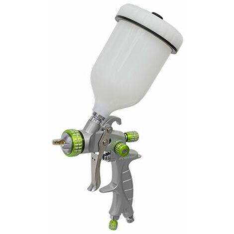 Sealey LVLP01 LVLP Gravity Feed Spray Gun 1.4mm Set-Up