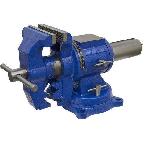 Sealey MFV150 Vice Cast Iron Multifunction Swivel Base 150mm