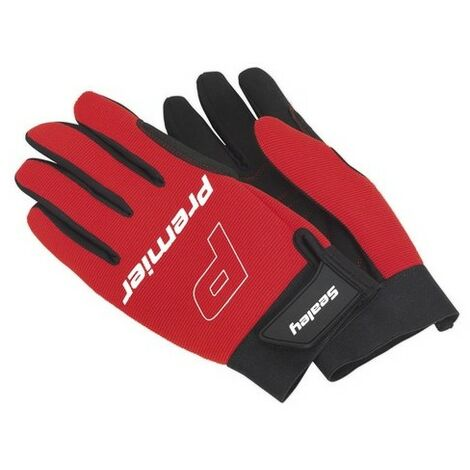 Sealey MG796XL Mechanic's Gloves Padded Palm - Extra Large