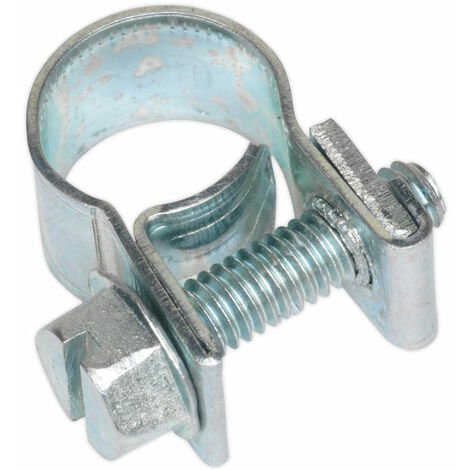 Sealey MHC810 Mini Hose Clip Ø8-10mm Pack of 30