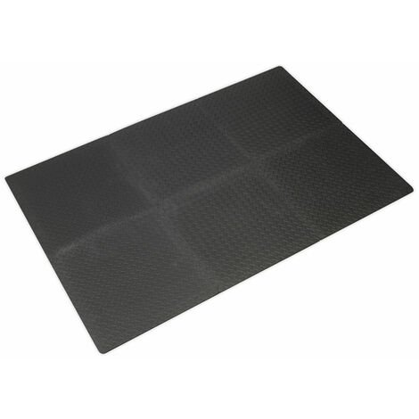 Sealey MIC1218 Interlocking Comfort Workshop Mat Set 1200 x 1800mm