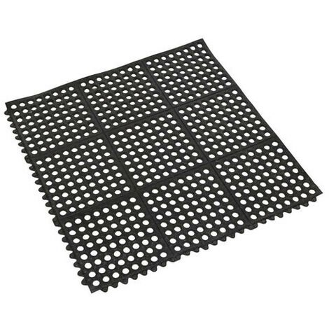 Sealey MIC9292 920 x 920mm Interlocking Anti-Fatigue Matting