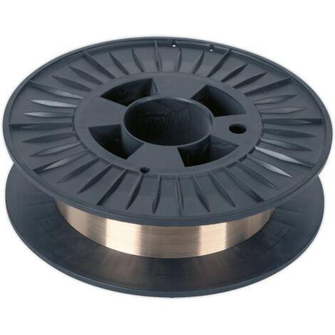 Sealey MIG/4K/BW08 Copper Silicon Bronze MIG Wire 4kg 0.8mm C9 Grade