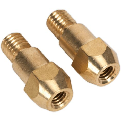 Sealey MIG925 Tip Adaptor 6mm TB36 Pack of 2