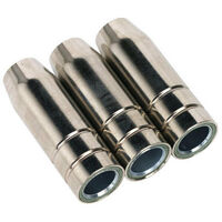 Sealey MIG955 conical nozzle tb15 pack of 3