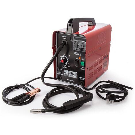Sealey MIGHTYMIG100 Professional No-Gas MIG Welder 100Amp 230V - Mightymig No-Gas