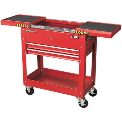 Sealey Mobile Tool & Parts Trolley - Red