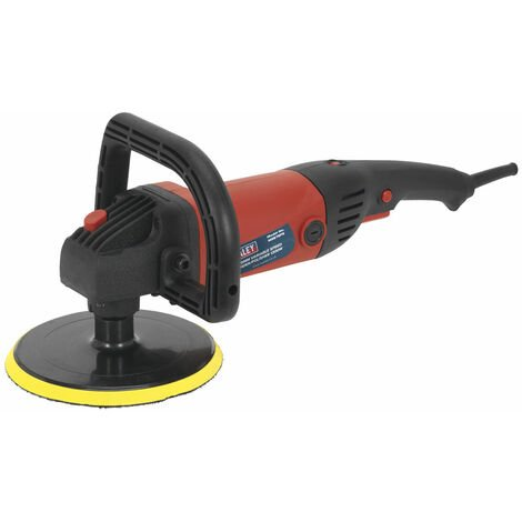 Sealey MS875PS Sander/Polisher Ø180mm Variable Speed 1200W/230V