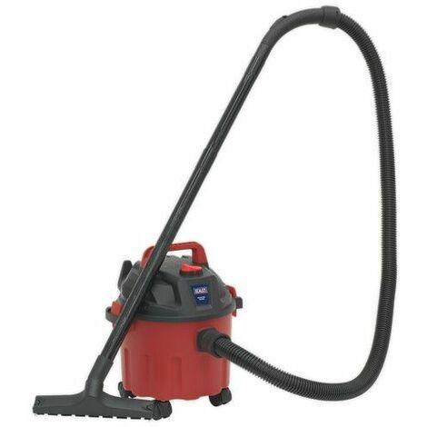 Sealey PC102 Vacuum Cleaner Wet & Dry 10ltr 1000W/230V