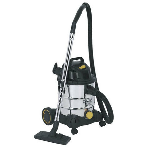 Sealey PC200SD110V Wet and Dry Industrial Vacuum Cleaner Stainless 20 Litre 110V