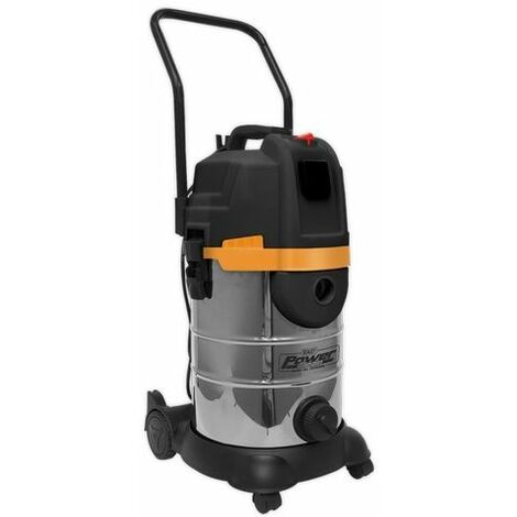 Sealey PC300BL Vacuum Cleaner Cyclone Wet & Dry 30ltr Double Stage 1200W/230V