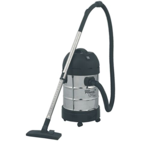 Sealey PC300SD Vacuum Cleaner Industrial 30L 1400W/230V Stainless Drum