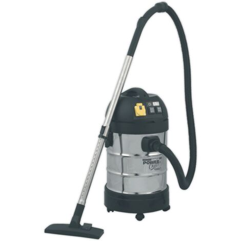 Sealey PC300SDAUTO Vacuum Cleaner Industrial 30L 1400W/230V Stainless Drum Auto Start