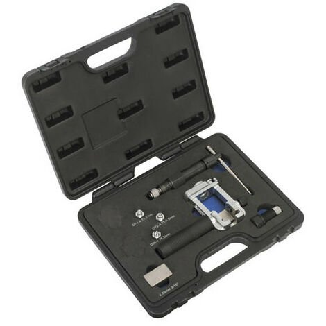 Sealey PFT10 On-Vehicle Hydraulic Pipe Flaring Tool Set