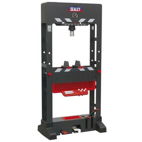 Sealey PPF301 Premier Air/Hydraulic Press 30 tonne Floor Type with Sliding Ram and Foot Pedal