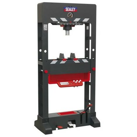 Sealey PPF501 Premier Air/Hydraulic Press 50 tonne Floor Type with Sliding Ram and Foot Pedal