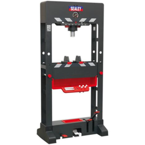 Sealey PPF501 Premier Air/Hydraulic Press 50tonne Floor Type with Sliding Ram and Foot Pedal