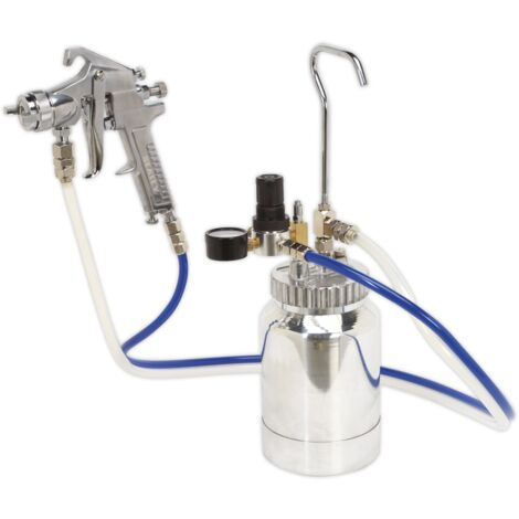 """main image of """"Sealey SSG1P Pressure Pot System with Spray Gun & Hoses 1.8mm Set-Up"""""""