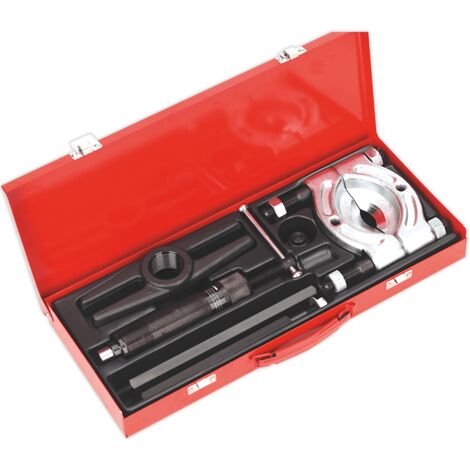 Sealey PS980 Bearing Separator/Puller Set 8pc Hydraulic