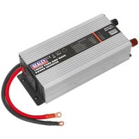 Sealey PSI1000 Power Inverter Pure Sine Wave 1000w 12v Dc - 240v 50hz