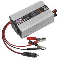 Sealey PSI300 300W Pure Sine Wave Power Inverter 12V DC - 230V 50Hz