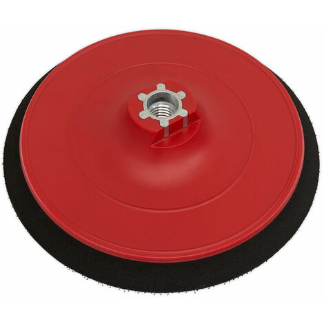 Sealey PTC/150VA/M14 DA Pad for Hook and Loop Discs 150mm M14