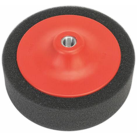Sealey PTC/CH/M14-P Buffing and Polishing Foam Head 150 x 50mm M14 Pink/soft