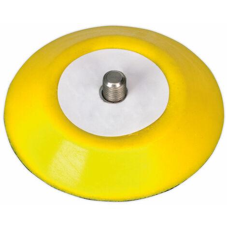 "Sealey PTC75VA516 Hook & Loop Backing Pad Ø71mm 5/16""UNC"