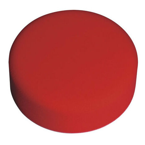 Sealey PTCCHV150R Diameter 150 x 50mm Hook & Loop Buffing & Polishing Foam Head Red/Ultra Soft