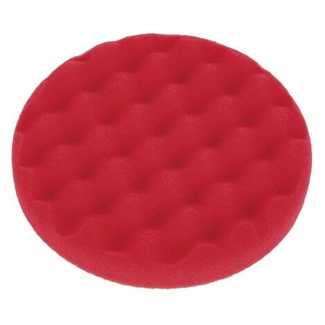 Sealey PTCCHW150R Buffing & Polishing Foam Head Dia 150 x 25mm Red/Ultra Soft