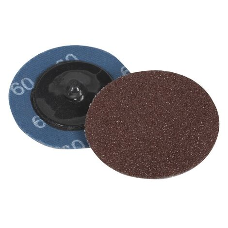 Sealey PTCQC5060 60Grit Diameter 50mm Quick Change Sanding Disc Pack of 10