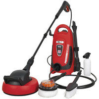 Sealey PW1600 110bar Pressure Washer with TSS & Rotablast Nozzle 230V with Accessory Kit