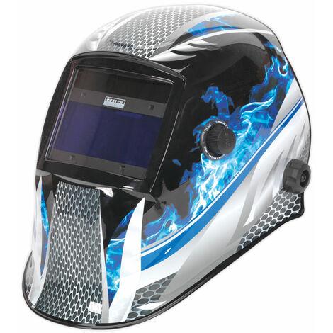 Sealey PWH601 Welding Helmet Auto Darkening Shade 9-13