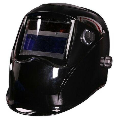 Sealey PWH610 Welding Helmet Auto Darkening Shade 9-13 - Black