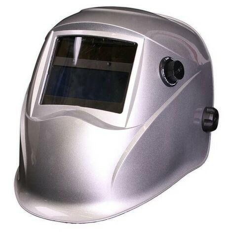 Sealey PWH613 Welding Helmet Auto Darkening Shade 9-13 - Silver