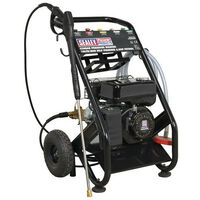 Sealey PWM2500SP 220bar Pressure Washer 10ltr/min Self Priming 6.5hp Petrol