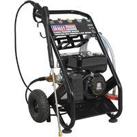 Sealey PWM2500SP Pressure Washer 220bar 10ltr/min Self Priming 6.5hp Petrol