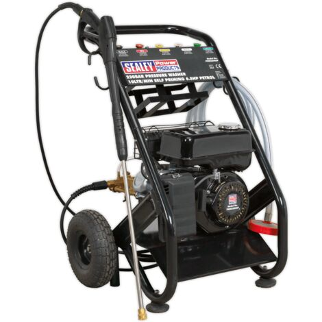 Sealey PWM2500SP Pressure Washer 220bar 540L/hr Self-Priming 6.5hp Petrol