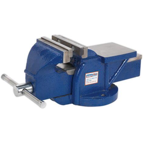 Sealey QAV150 Vice 150mm Quick Action Swivel Base Cast Iron
