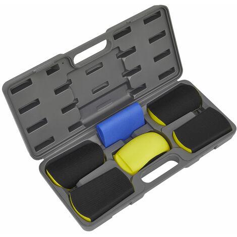 Sealey RE40KIT Sanding Block Hook-and-Loop Kit 6pc