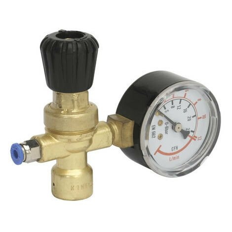 Sealey REG/MMG MIG Gas Regulator 1 Gauge Disposable Cylinder