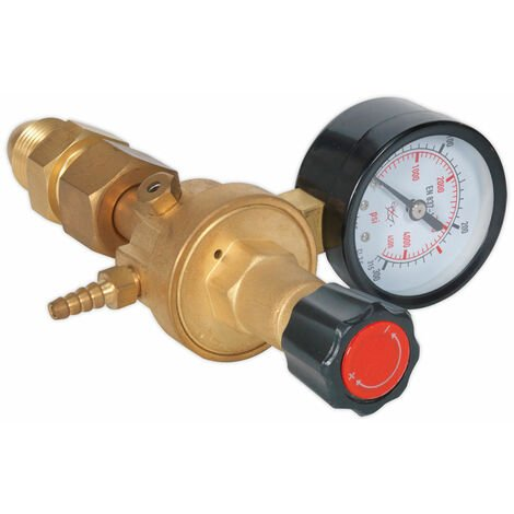 Sealey REG/MO Mig Gas Regulator 1 Gauge Industrial