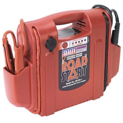 Sealey RS102 12V RoadStart Emergency Power Pack 1600 Peak Amps