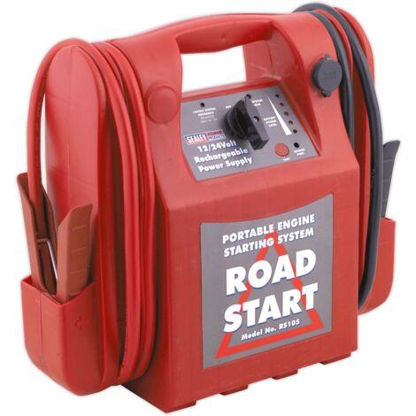 Sealey RS105 RoadStart® Emergency Jump Starter 12/24V 3200/1600 Peak Amps