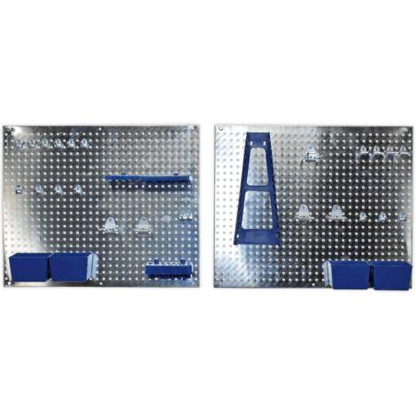 Sealey S01102 Wall Storage Pegboard Set 34pc