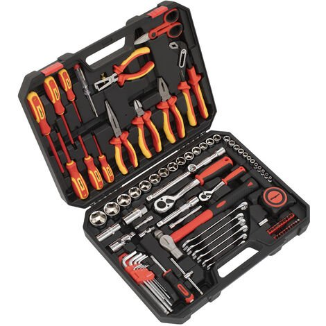"""main image of """"Sealey S01217 Electrician's Tool Kit 90pc"""""""