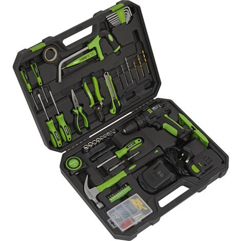 Sealey S01224 Tool Kit with Cordless Drill 101pc