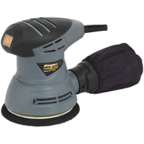 Sealey S0125 Dual Action Palm Sander 125mm 240W/230V