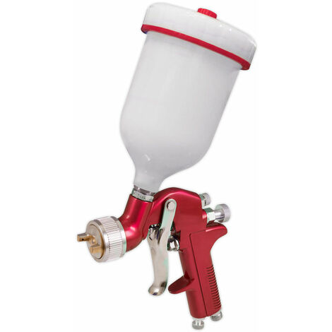 Sealey S714G Gravity Feed Spray Gun 1.4mm Set-Up